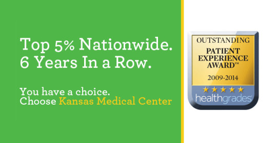 Kansas Medical Center in top 5% nationally for patient experience